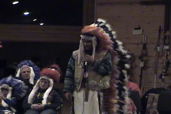 "Eagle of the North tells of his adventures visiting the Lakota Sioux.  This is the famous ""House Blessing/IRS story from Winter Camp January 2009. Part 2 of 2."