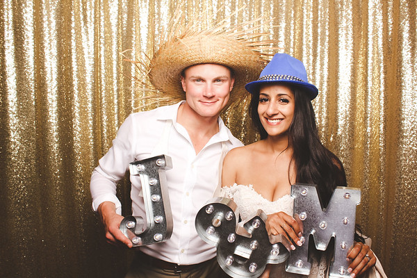 Minnie + Jared Photo Booth