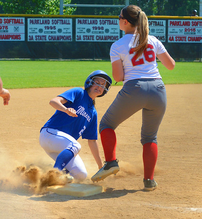 Bristol Softball in 2017 PIAA Semifinal vs Minersville
