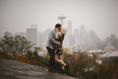 Discovery Park Engagement | Maddie and Matt | Seattle Wedding Photographer