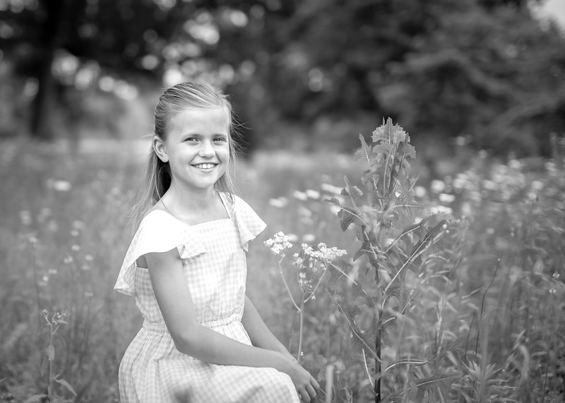 Nora with Tall Grasses bw (5 of 9).jpg