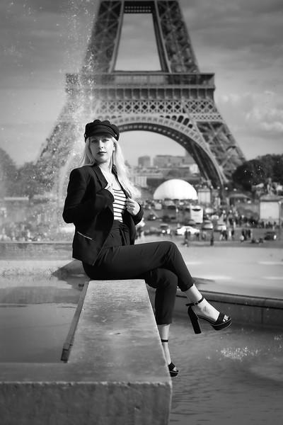 Mélanie B, Un Jour de Septembre 2019, Au Trocadéro et Bir Hakeim