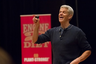 February 28th, 2013 Rip Esselstyn Lecture at Nova Southeastern University sponsored by Whole Foods
