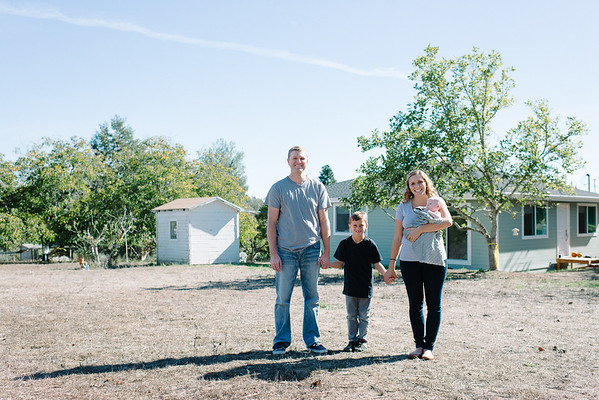 Petersen Family | Forestville Private Residence | Family Portraits