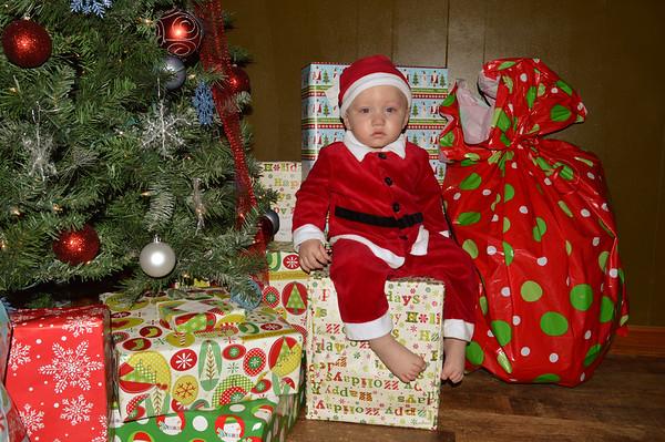 Jaxtin's Christmas pics 2015