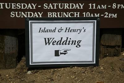 Wedding of Island and Henry