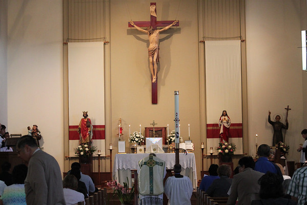 TLM: Ascension & 1st Holy Communion (5/9/13)