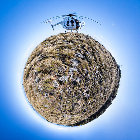 Endeavour Inlet Tiny Planet Photos