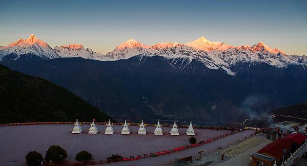 China, Shangri-La, Mainri Mountain,  Deqen, Yunnan,  云南, 梅里雪山