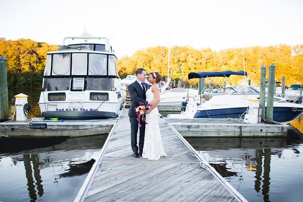 Katy and Liam - Wedding at the Marina