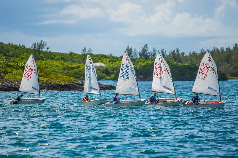 pre-hurricane sailing