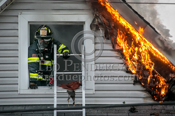 Lowell MA - 3 Alarms on Burgess St