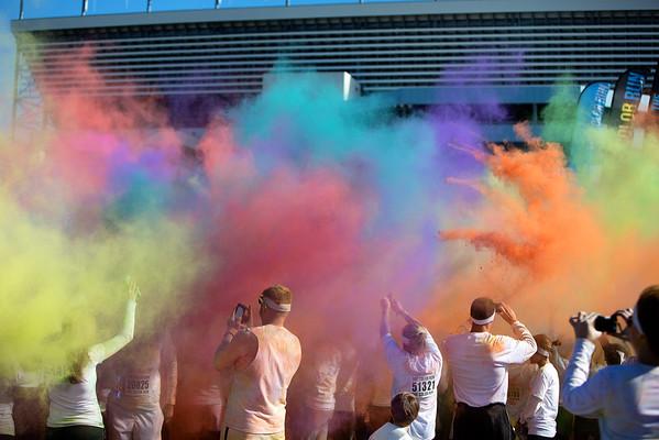 The Color Run Charlotte 2012