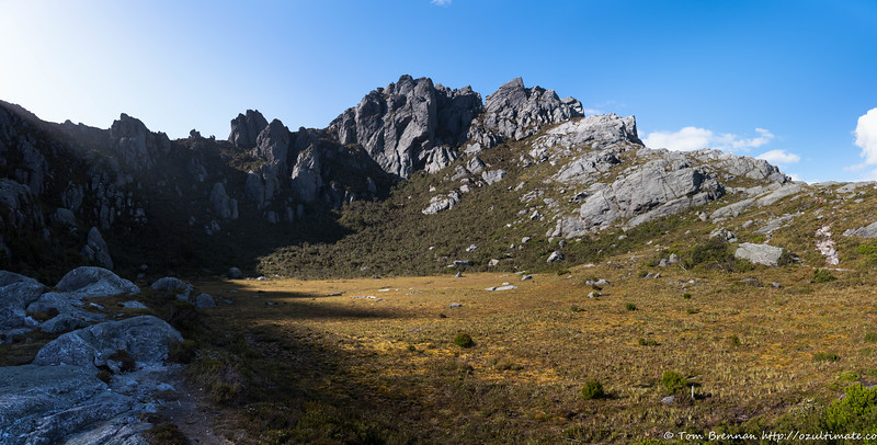 The cirque above Lake Oberon
