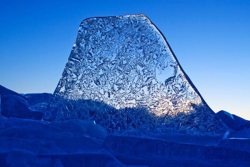 Lake Superior Ice Shards