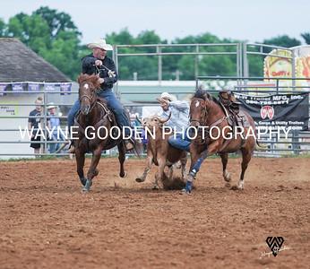 Kash Koester Steer Wrestling