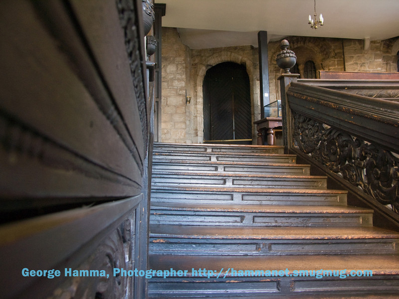 Durham Castle stairs