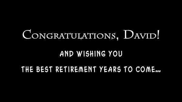 David's Retirement