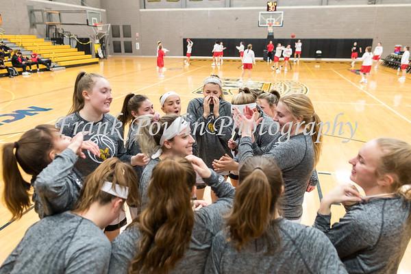 Framingham State women's basketball 2/19/2020