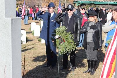 Northeast High School JRTOC at Veteran's Wreath Event