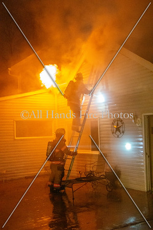 20210125 - Unincorporated Mount Juliet - House Fire