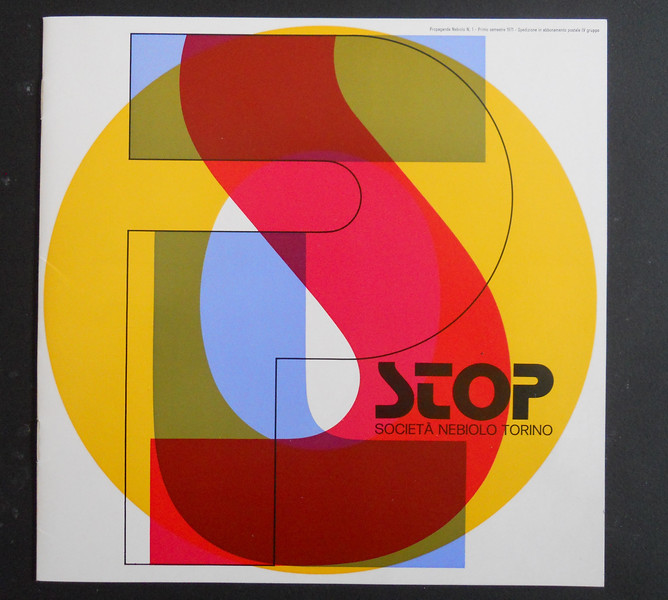 Prospectus of Stop, one of Aldo Novarese' world successes. 1970s.