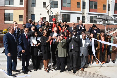 City welcomes Upper Falls Square Apartments to Hudson Avenue. 10/18/2018