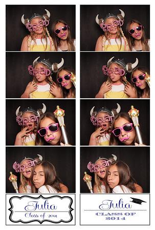 Julia's Graduation party
