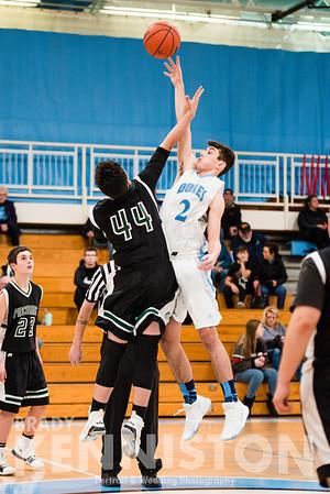 12-4-17 Garber Freshman & Varsity Basketball