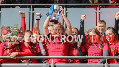 2020-03-11 Enniskillen Royal Grammar 12 Erne Integrated College 10 (Girls Schools Cup)