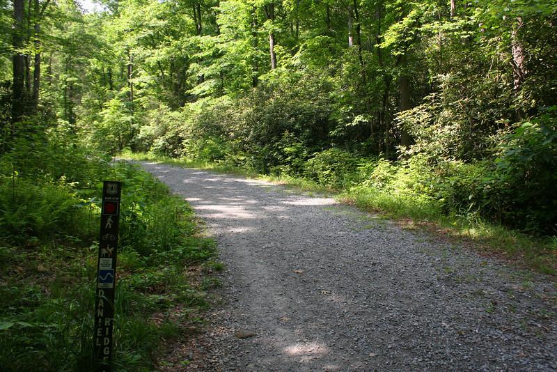 Daniel Ridge Loop Trailhead