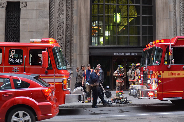 November 14, 2011 - Working Fire - 25 King St. West