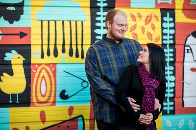 Samantha and Brandon's Engagement Photoshoot