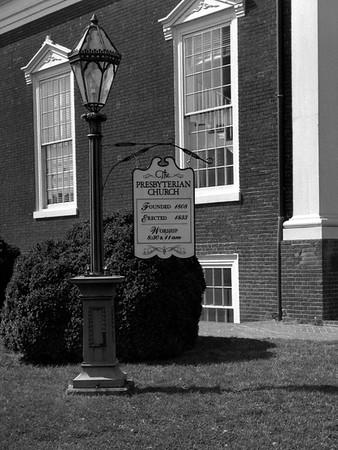 The Presbyterian Church of Fredericksburg Virginia.