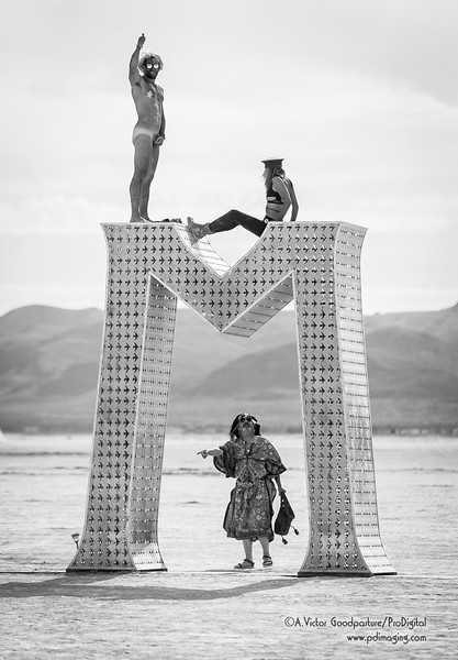 Burning Man is full of colorful characters.