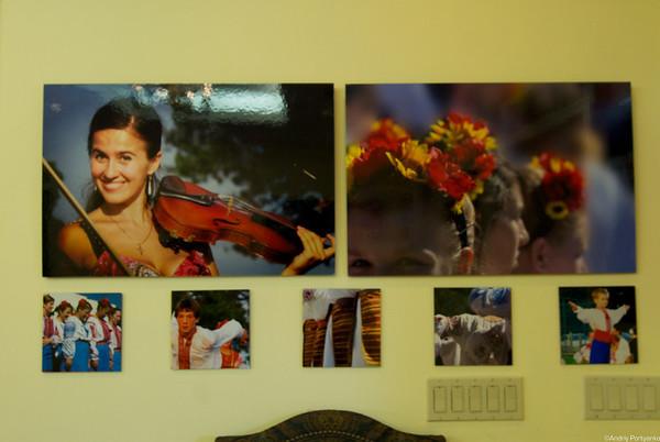 Exhibit at Ukrainian Embassy