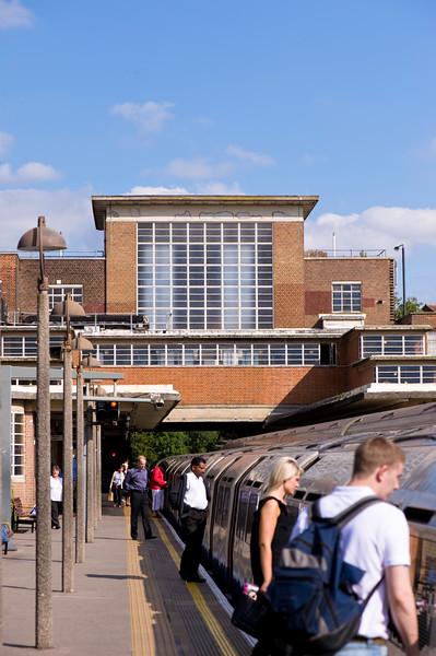 Rayners Lane underground station, London, United Kingdom