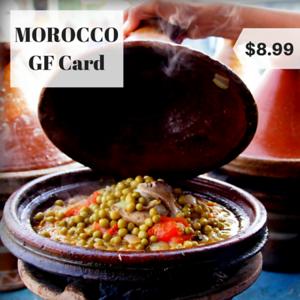 morocco gluten free restaurant card