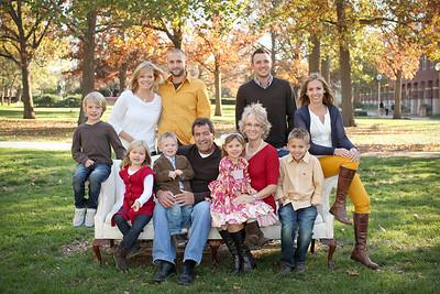 Hettinger/Vincent Family- 2012