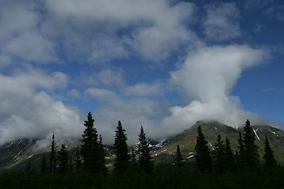 ALASKA CLOUDS & RAINBOWS