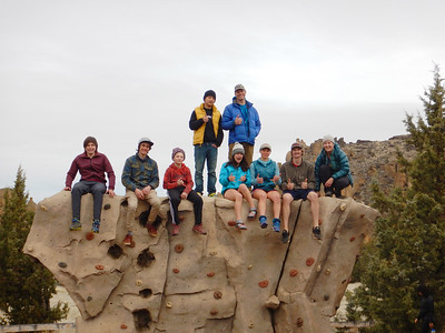 Outdoor Club at Smith Rocks 4-2 to 4-6-18