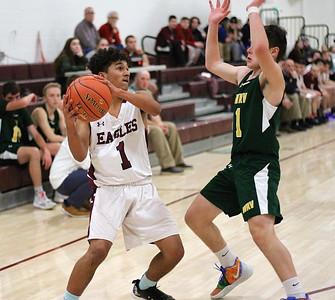 AMHS Varsity Boys Basketball vs WRV photos by Gary Baker
