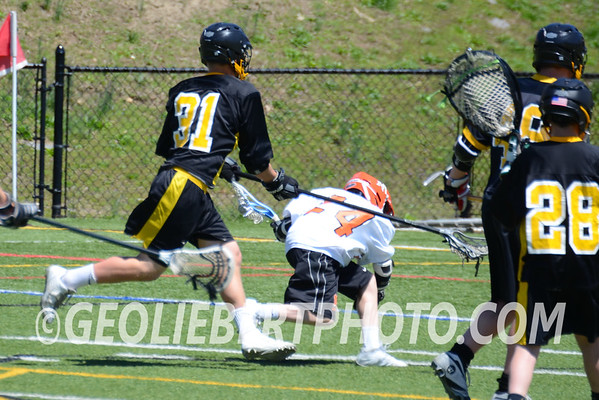 JV REBELS Defeated by Mamaroneck Tigers 7-3 in Lacrosse