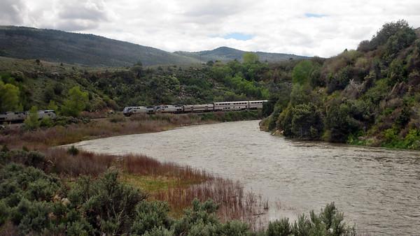 Amtrak California Zephyr - Westbound