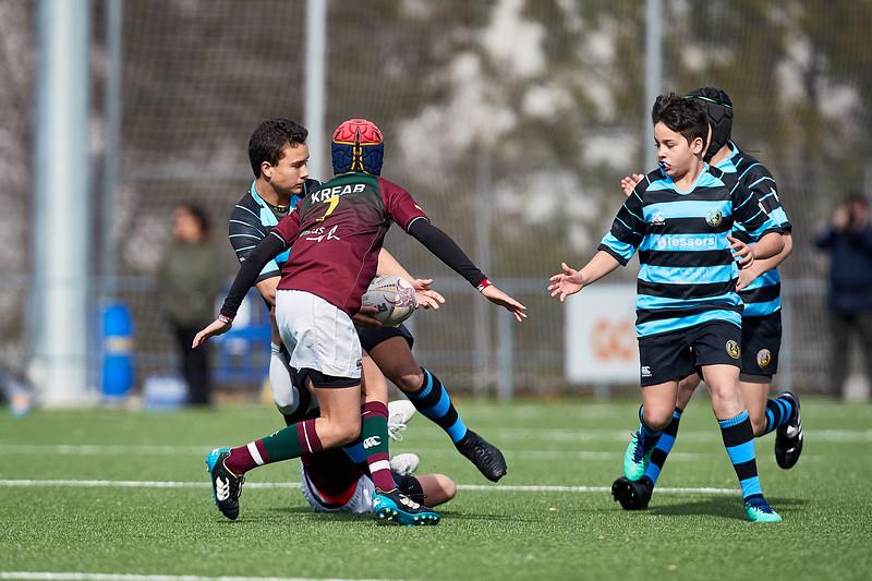 Kreab Alcobendas Rugby Granate vs I.Industriales Azul: 34-5