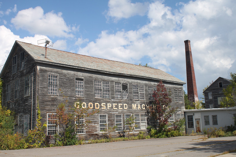 Goodspeed Machine Co., Winchendon, MA. 2017.
