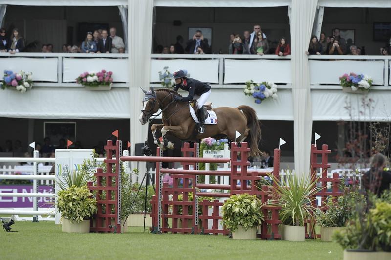 JUMPING : Pénélope LEPREVOST SUR TOPINAMBOUR COUPE DES NATIONS 2012 -  CSIO DE LA BAULE 2012 - PHOTO : © CHRISTOPHE BRICOT