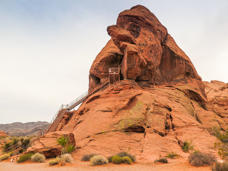 Atlatl Rock, Valley of Fire State Park