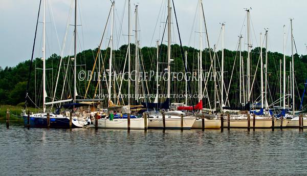 Rock Hall Maryland Boats - 21 Aug 2010