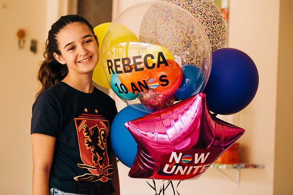Aniversário Rebeca 10 anos